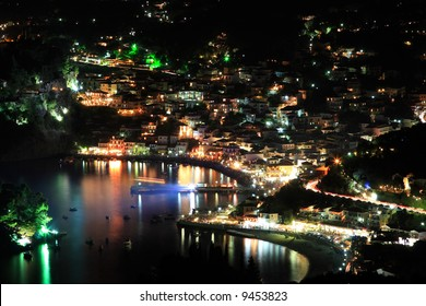 August the 15th in Parga Greece