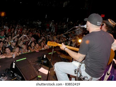 "August 16, 2011 - Athens, GA - Brantley Gilbert. Country artist Colt Ford rounded up his friends to hold a benefit for the family of Elmer ""Buddy"" Christian."