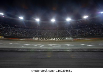 August 18, 2018 - Bristol, Tennessee, USA: The Monster Energy NASCAR Cup Series teams take to the track for the Bass Pro Shops NRA Night Race at Bristol Motor Speedway in Bristol, Tennessee.
