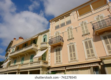 August 2007: Photo from iconic city of Monaco, French Riviera, France