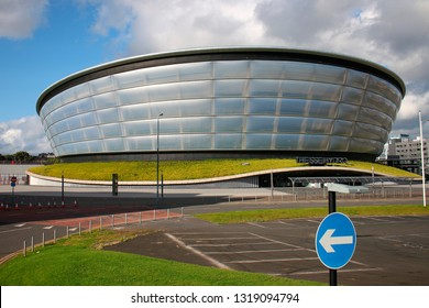 AUGUST 2017 - GLASGOW: SSE Hydro (Architect: Sir Norman Foster),Scotland.