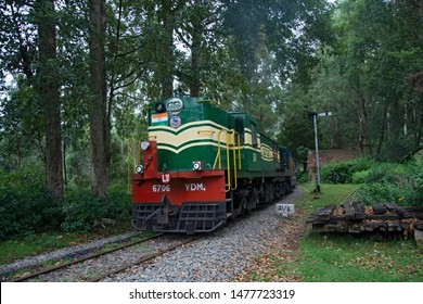AUGUST 2017, OOTY, TAMIL NADU, INDIA: The beautiful nilagiri mountain toy train for Ooty to Coonoor