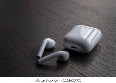 August 23, 2018 - Apple Airpods are popular in wireless headphones market . We are seeing many more people using it at gym, coffee shops and many more places.