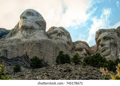 August 27, 2017: Mount Rushmore National Monument in South Dakota