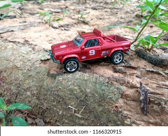 August 28, 2018. A hotwheel car being captured by a hobbyist in Malaysia