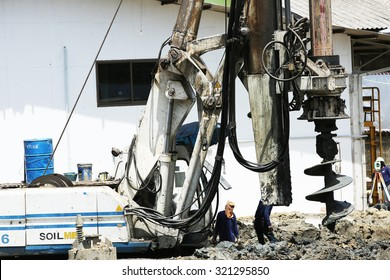 Borehole Water Well Drilling Rig Boring #404317 - PNG Images - PNGio