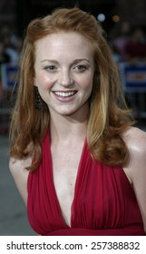 "August 4, 2005. Jayma Mays at the ""Red Eye"" Los Angeles Premiere at the Mann Bruin in Westwood, California ."