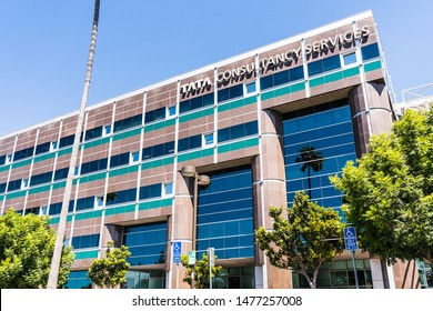August 7, 2019 Santa Clara / CA / USA - Tata consultancy services ltd. office located in Silicon Valley; TCS is an Indian multinational IT service and consulting company part of the Tata Group