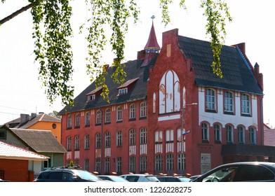 August 9, 2018, Baltiysk, Kaliningrad oblast, Russia, Museum of the Baltic fleet, the building of institutions of the Baltic fleet