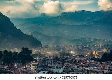 August,15th 2017 - Katmandu, Nepal - Kathmandu is the capital city of the Federal Democratic Republic of Nepal, the largest Himalayan state in Asia.