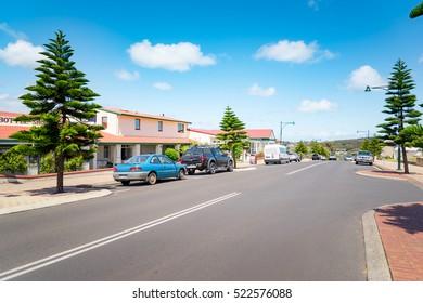 Augusta , Australia - NOVEMBER 10,2016 :  August town street scene .Augusta is a town on the south-west coast of Western Australia.