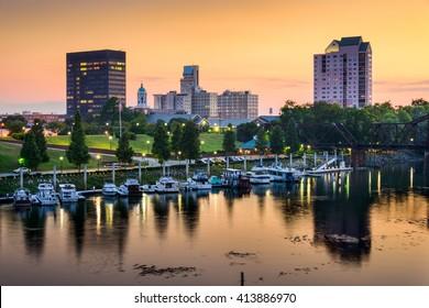 Augusta, Georgia, USA downtown skyline.