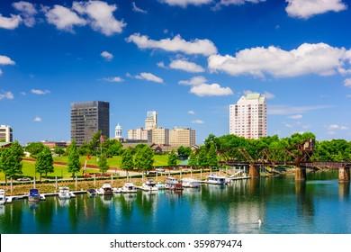 Augusta, Georgia, USA on the Savannah River.