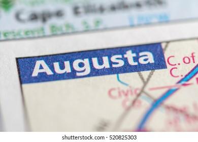 Augusta. Maine. USA