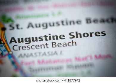Augustine Shores. Florida. USA