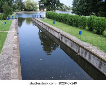 Augustow Canal in Poland