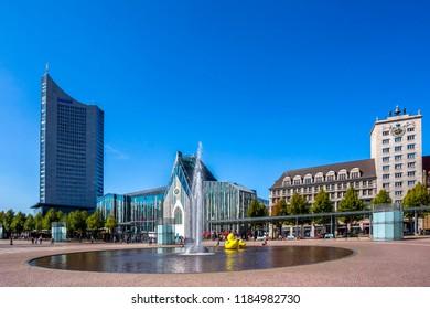 Augustusplatz, Leipzig, Germany