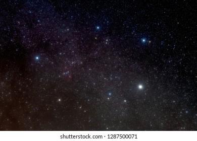 Auriga and scattered light nebula