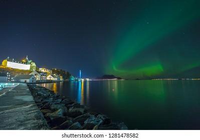 Aurora in Aalesund