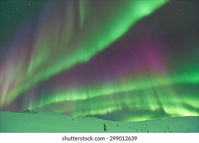 Aurora Borealis. Alaska.