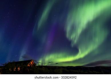 Aurora Borealis. Iceland. August.