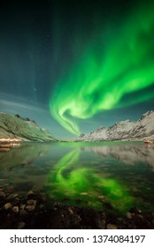 Aurora Borealis over Tromsø-Norway