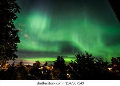 Aurora borealis Stockholm