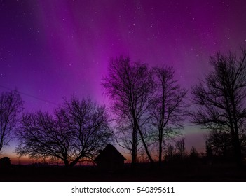 Aurora over Latvia
