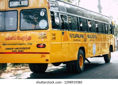 Indian Children School Bus Stock Photos Images Photography