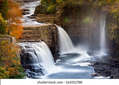 Ausable Chasm Waterfall, Adirondack mountains, Upstate New York