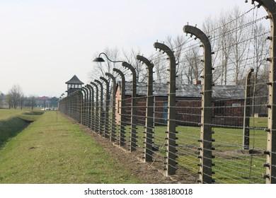Auschwitz Birkenau death camp in Poland