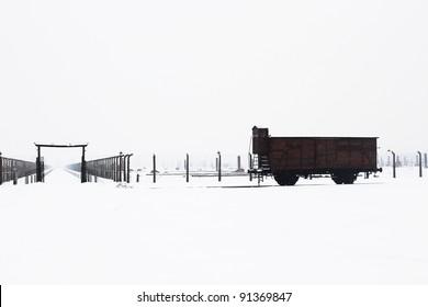 Auschwitz camp, Poland