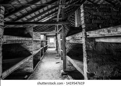 Auschwitz Concentration Camp Prison Dorms