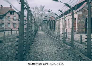 Auschwitz I -  nazi concentration camp museum