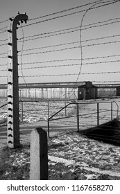 Auschwitz. Poland. 01.29.12. Auschwitz-Birkenau Concentration Camp, where up to three million people were murdered by the Nazis (2.5 million gassed, and 500,000 from disease and starvation).