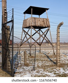 Auschwitz. Poland. 01.29.12. Auschwitz Concentration Camp, where up to three million people were murdered by the Nazis (2.5 million gassed, and 500,000 from disease and starvation).