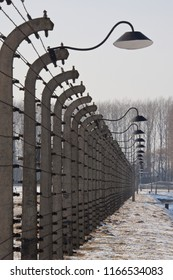 Auschwitz. Poland. 01.29.12. Auschwitz II-Birkenau, the extermination camp, where up to three million people were murdered by the Nazis (2.5 million gassed, and 500,000 from disease and starvation).