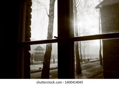 Auschwitz Poland View from a Window