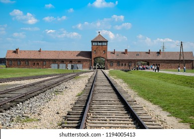 Auschwitz-Birkenau Concentration Camp in Poland