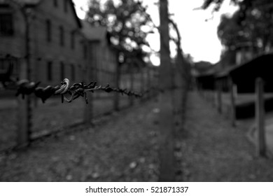 Auschwitz-Birkenau Concentration Camp, Poland.