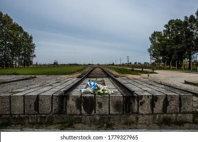 Auschwitz-Birkenau railway; the holocaust train