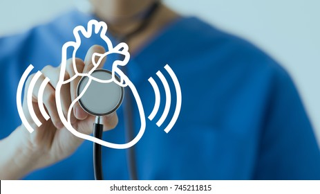Auscultation. Medical checkup concept.
