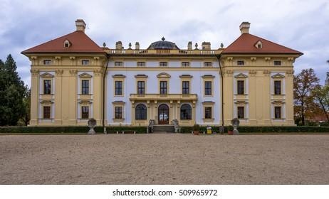 Austelitz, Slavkov Castle front view