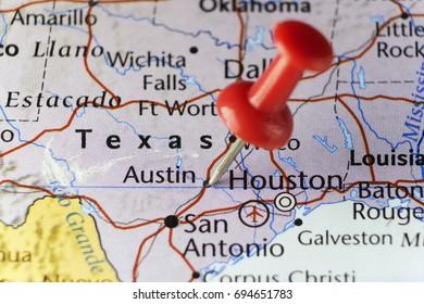 Austin capital city of Texas, USA. Copy space available.