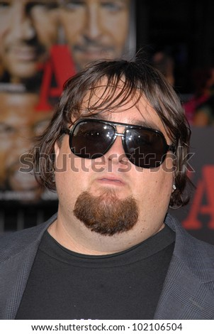 "Austin ""Chumlee"" Russell at ""The A-Team"" Los Angeles Premiere, Chinese Theater, Hollywood, CA. 06-03-10"