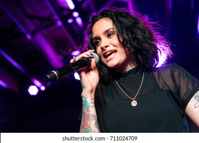 AUSTIN - CIRCA MARCH 2016: Rapper, singer, and songwriter Kehlani Ashley Parrish performs at the SXSW Music Festival in Austin, Texas.