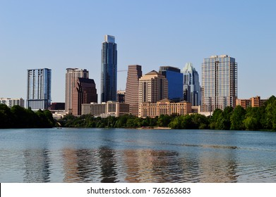 Austin City Landscape Day time