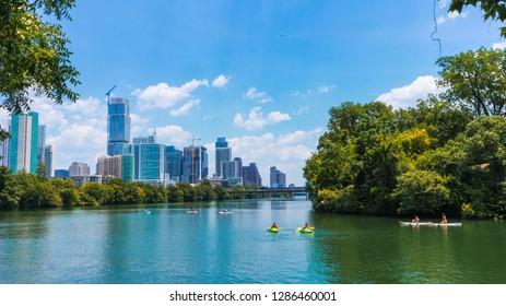 Austin Downtown Lake