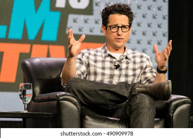 AUSTIN - MARCH 14, 2016: Director JJ Abrams speaks at a SXSW event in Austin, Texas.