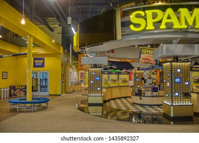 Austin, Minnesota, USA 5-1-19The Spam Museum is dedicated to the canned Meat Product